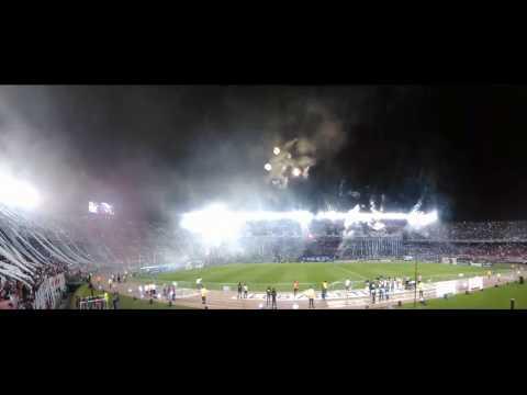 Recibimiento River Plate Recopa Sudamericana 2016 en 360 - Los Borrachos del Tablón - River Plate