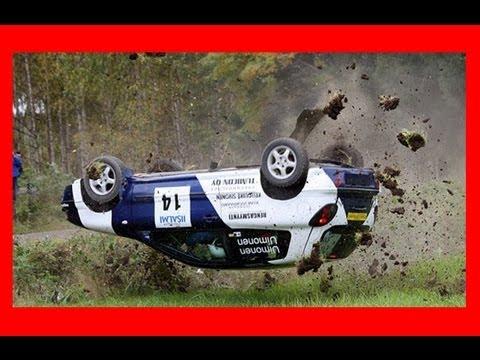 Crash rallye complitation