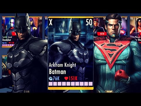 Why Arkham Knight Batman Is The BEST Character! Injustice Gods Among Us 2.21! IOS/Android!