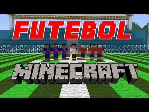 Futebol no Minecraft