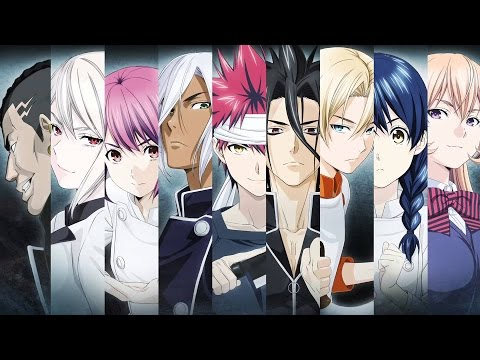 Top 17 Shokugeki No Soma/ Food Wars  Skillest Chefs (92th Generation Only)