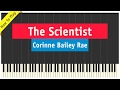 Corinne Bailey Rae - The Scientist - Piano Cover (How To Play Tutorial)