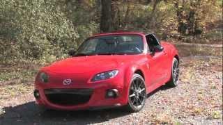 2013 Mazda Miata MX-5 Club Review | 0-60 Road Test | MPGomatic