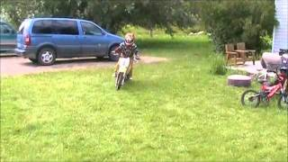 2. Brody's First Day On His Suzuki RM 65