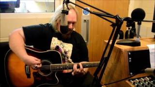 Live acoustic performance on Borough Blues, Radio Ashford