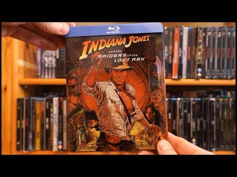 INDIANA JONES AND THE RAIDERS OF THE LOST ARK (UK Blu-ray Steelbook) / Zockis Sammelsurium Nr. 1102