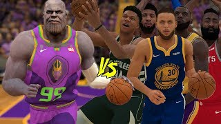 Thanos Vs The Best Players In The NBA! | NBA 2K19