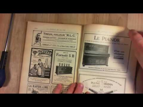 Cool ads and articles in a 1924 science magazine