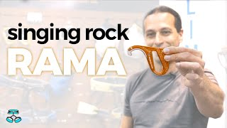 Singing Rock Rama Belay Device - 2019 Brake Assist Belay Device by WeighMyRack