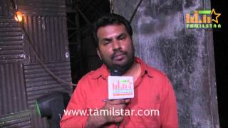 Meera Kathiravan at Vizhithiru Movie Shooting Spot
