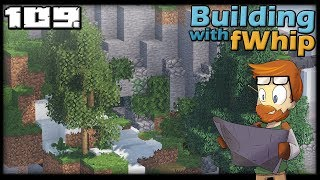 Building with fWhip :: SNOW FARM CAVE #109 MINECRAFT Let's Play 1.12 Single Player Survival