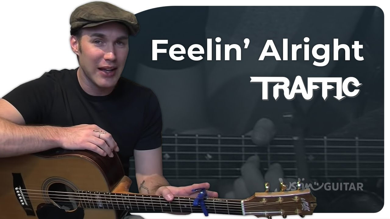 Feelin Alright – Joe Cocker (Easy Songs Beginner Guitar Lesson BS-102) How to play
