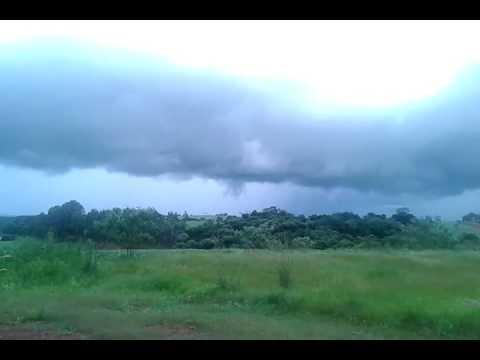 Tornado em Três Palmeiras-RS