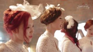 "K-POP Female Idol - ATT ""Temptation"" Music Video Making Film"