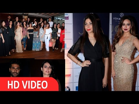 Sana Khan,Kanika Kapoor & Other At 1st Edition Of Joya An Exhibition