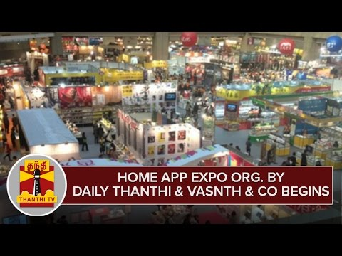 Home-Appliances-Expo-Organized-By-Daily-Thanthi-and-Vasanth-and-Co-begins-at-Chennai--Thanthi-TV