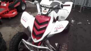 7. 2004 Yamaha 660 Raptor 4-Wheeler ATV