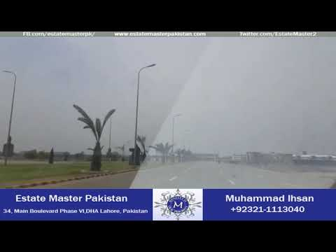 DHA Multan Main Boulevard Latest Update May 2018
