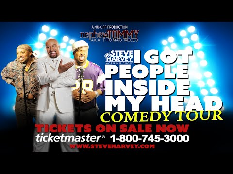 """tommy - Nephew Tommy from The Steve Harvey Morning Show is embarking on a new tour with his crew mate Kier """"Junior"""" Spates and he's bringing Eugene, Oatmeal and Tony Roberts. All tickets available..."""