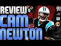 LIMITED EDITION CAM NEWTON PLAYER REVIEW! A FUN QB FOR MUT TO JUST HAVE FUN!