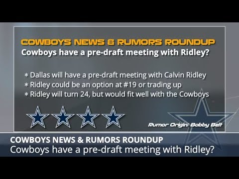 Cowboys Rumors: Latest On Trying To Sign Sammy Watkins, Dez Bryant's Future & Drafting Calvin Ridley