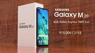 Samsung Galaxy M20 - OFFICIAL TEASER LOOK!!!