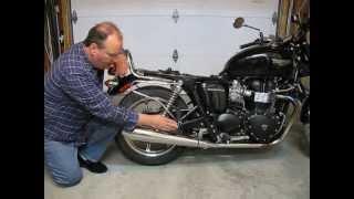 5. 2012 Triumph Bonneville Chain Adjust