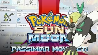 Passimian Moveset Guide! How to use Passimian! Pokemon Sun and Moon! by PokeaimMD