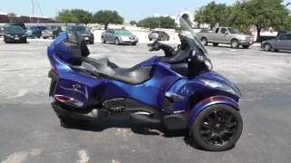 5. 005691 - 2013 Can Am Spyder RT-S SE5 - Used Motorcycle For Sale