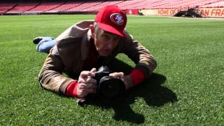 49ers photog Michael Zagaris relives iconic shot 'Mentor and Master'