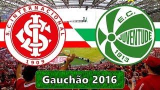 Melhores momentos e gols do jogo Internacional 3 x 0 Juventude - 08/05/2016  Final do Campeonato Gaucho 2016. O Internacional venceu por 1 a 0 o jogo de ida...