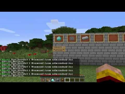 плагин на магазин в minecraft 1.7.2 без сундука