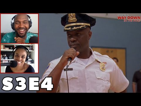 Bunny Colvin Opens Hamsterdam: The Wire, Season 3, Episode 4 With Van Lathan & Jemele Hill
