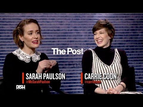 ANDREW FREUND TALKS SECRETS WITH SARAH PAULSON AND THE CAST OF 'THE POST'