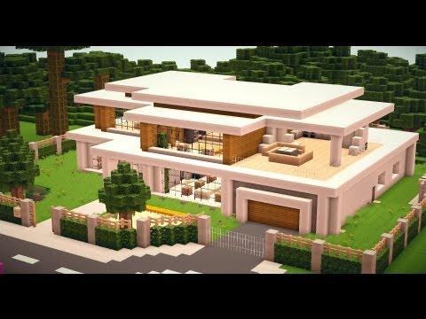 Modern house 010 minecraft project - Minecraft haus modern ...