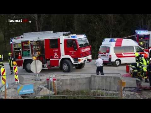 Tödlicher Verkehrsunfall: Auto bei Scharnstein in Baustelle gekracht