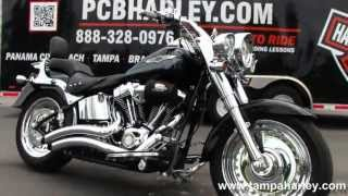 3. Used 2008 Harley Davidson FLSTF Fat Boy for sale Call Price Specs