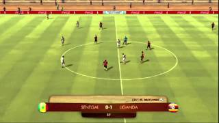 FIFA Digital World Cup 2014 Qualification: Senegal - Uganda