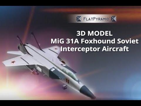 MiG 31A Foxhound Soviet interceptor...