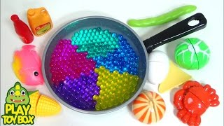 Video Orbeez DIY StressBall Frying Pan Sayuran Memasak Bermain Doh Pelajari Warna & Nama [Inggris] MP3, 3GP, MP4, WEBM, AVI, FLV Agustus 2017