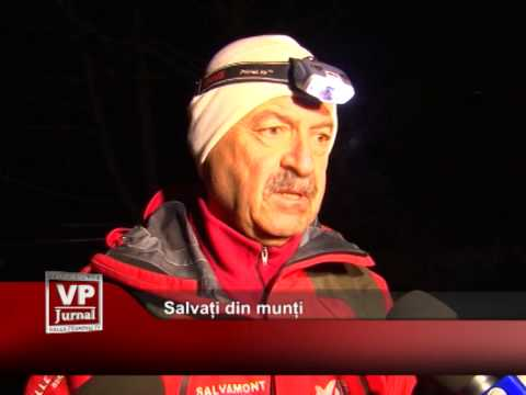 Salvați din munți