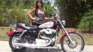 6. Used 2005 Harley Davidson Sportster 883 Custom  Motorcycles for sale