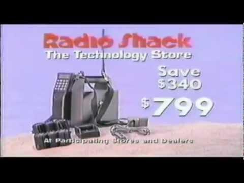 超級復古的電話!你有看過1989年代的行動電話嗎?