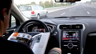 Oto jak działa system utrzymywania pasa ruchu ( Ford Mondeo)