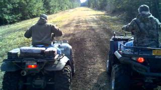 7. 04 Kawasaki Prairie 700 vs 05 Polaris Sportsman 800
