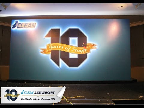 iCLEAN 10 Years of Magic