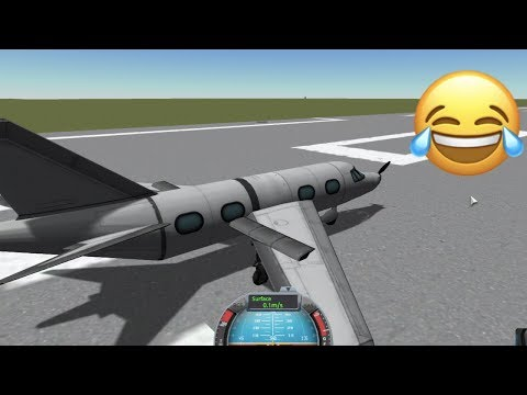 Building My Own Plane In Kerbal Space Program