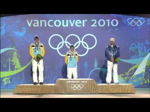 Men's Luge Singles - Victory Ceremony - Vancouver 2010 Winter Olympic Games