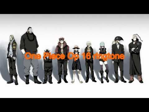 One piece Op 16 ringtone