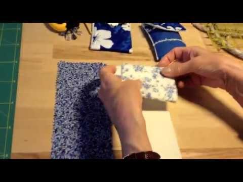 tutorial: come cucire un porta cellulare